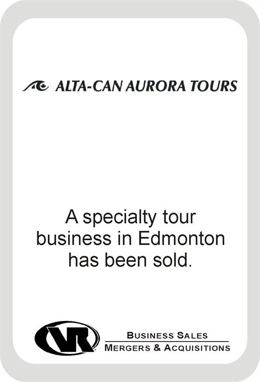 Alta-Can Tours business for sale