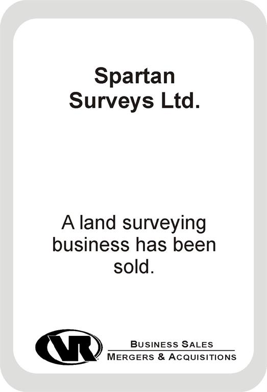 land surveying business sold