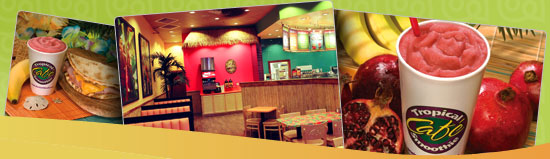 Tropical Smoothie Cafe Franchise Opportunities (Click Here)
