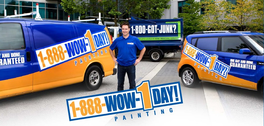1-888-WOW-1DAY! Painting Franchise Opportunities