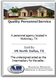 quality personnel service sold